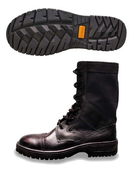Coturno Militar Original Boot Minas