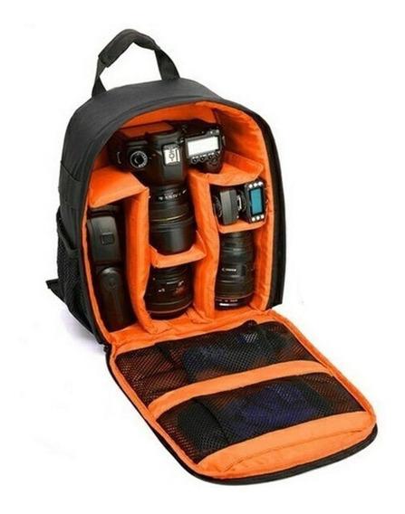 Mochila Para Fotografia Dslr Bag Impermeável Viagem Camera