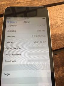Ipod Touch 16gb - 5ª Geração Prata