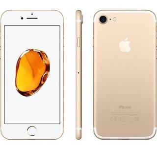 iPhone Barato Apple 7 32gb Dourado Seminovo Impecável