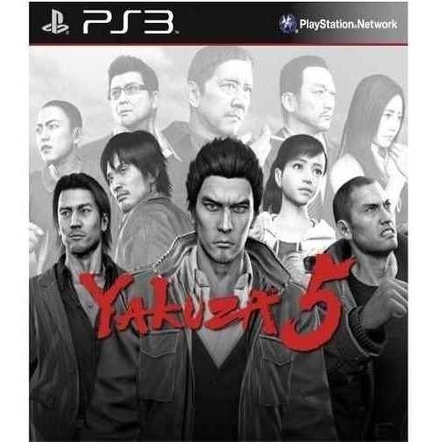 Yakuza 5 - Jogos Ps3 Playstation 3