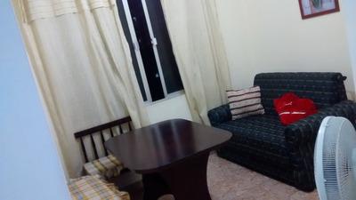 Apartamento Mobiliado Com Cama Box , Beliche, Sofá Cama , Ge
