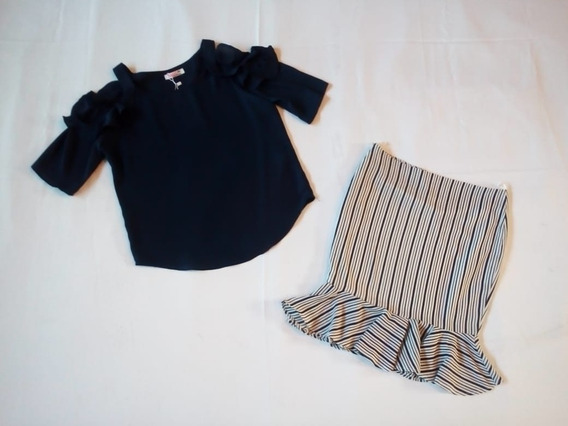 Conjunto Blusa/falda Dama 275