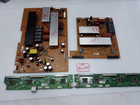 Placa Y+z Sus + Buffer Tv Lg Pj350 C/ Defeito P/tecnicos