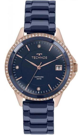 Relógio Feminino Technos 2315kzt/4a Ceramic Sapphire