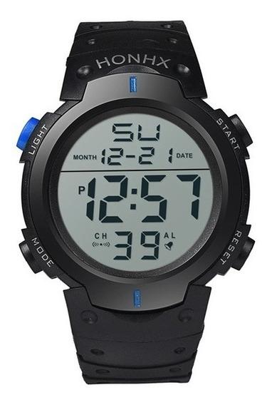 Relógio Masculino Esportivo Digital Honhx Crônometro