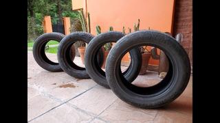 4 Neumáticos Continental Usado 235/55r17 4x4 Contact Francia