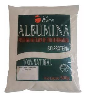 Albumina 10kg-combo(20 Pacotes De 500g)-83% Prot- Suplemento