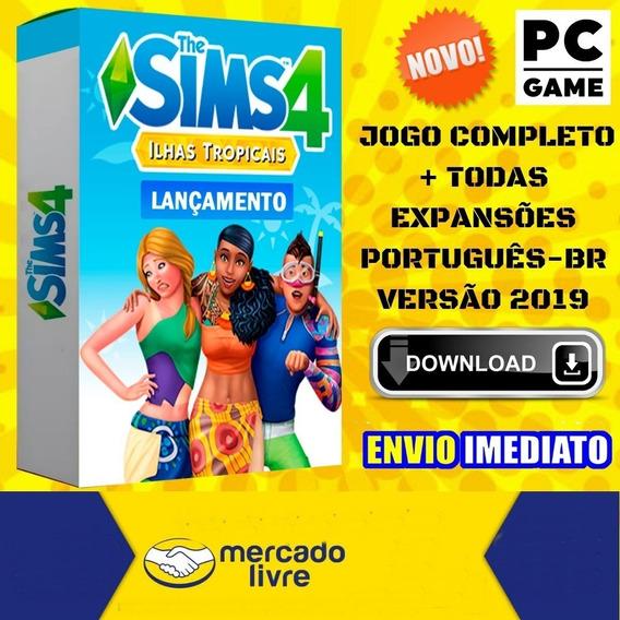 The Sims 4 Pc Todas Expansões Português Mídia Digital 2019
