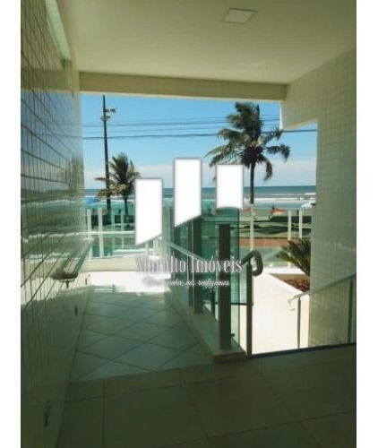 Imagem 1 de 14 de Apartamento Novo Em Frente Ao Mar. Em Mogaguá S. Paulo.