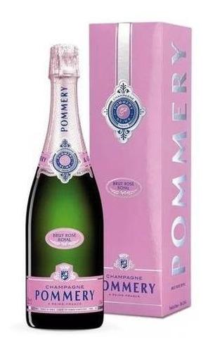 Imagen 1 de 3 de Champagne Francés Pommery Brut Rose 750ml
