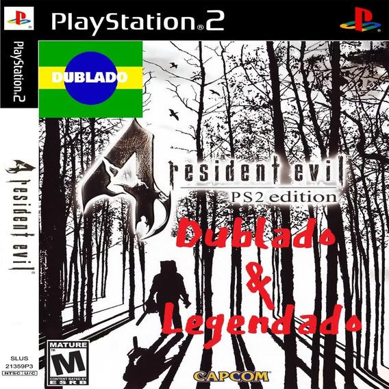 Resident Evil 4 Dublado Em Português Ps2 Desbloqueado Patch