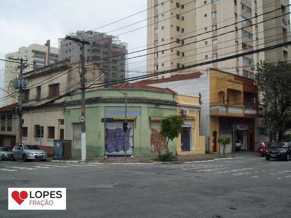 200 M² - Terreno De Esquina - Excelente Localização Na Mooca - Compre E Construa Seu Negocio - Local Para Grande Sucesso. - Te0014