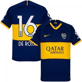 Camisa Boca Juniors 2020 - De Rossi, Tevez, Salvio, Pavon, Zarate, Fabra, Abila