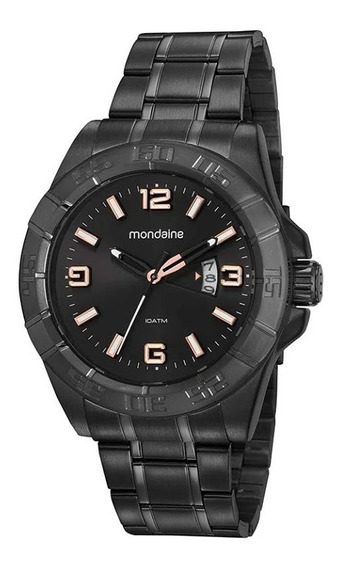 Relógio Masculino Preto Mondaine