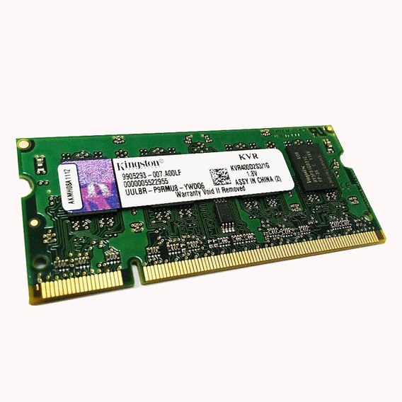 Memoria Notebook Kingston Sodimm 1gb Ddr2 400 Mhz Belgrano