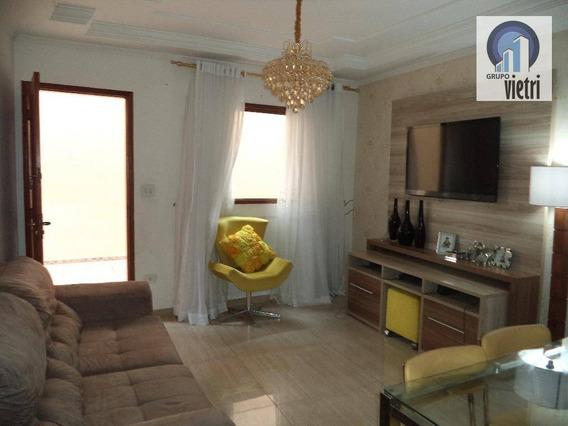 Sobrado Em Condomínio Fechado Com 2 Dormitórios, Sala, Cozinha, Banheiro, 2 Vaga E Depósito Aceita Financiamento - So1889