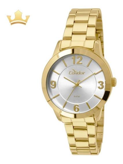 Relógio Condor Feminino Co2035koo/4k Com Nf