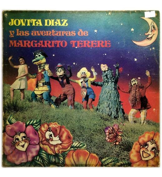 Vinilo Jovita Diaz Y Las Aventuras De Margarito Terere Lp