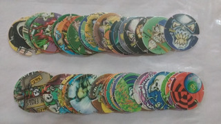 46 Tazos Frog Mania Brillhant Frogs