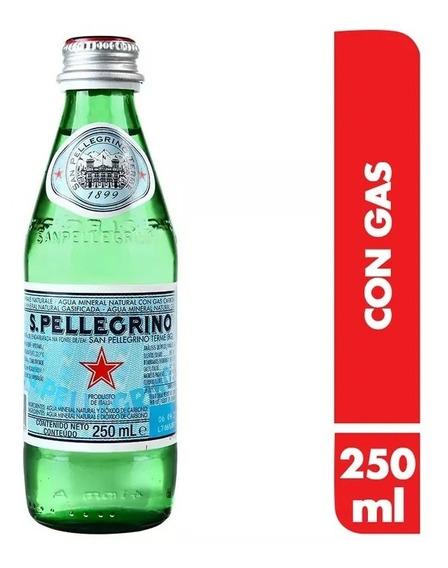Agua Mineral San Pellegrino 250 Ml X Pza