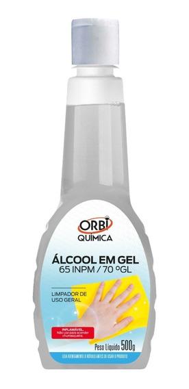 Álcool Em Gel Orbi Química 65 Inpm/70 Gl 500g