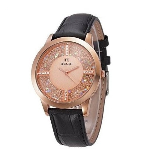 Ogki Pf49-k32g4 Rose Gold Pulsera Reloj Mujeres Top Brand Un