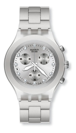 Reloj Swatch Svck4038g Full-blooded Silver