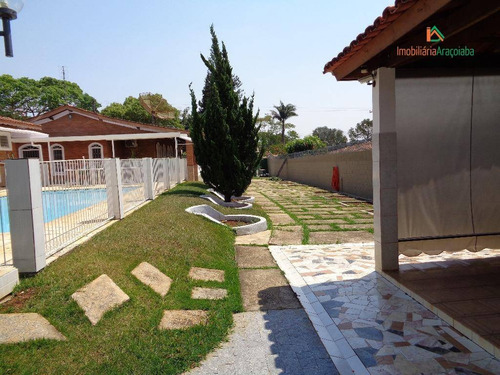 Imagem 1 de 30 de Chácara Em Araçoiaba , Monte Bianco Com 3 Dormitórios - Ch0114