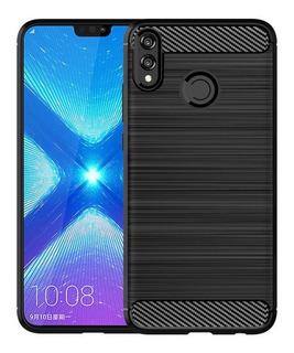 Capa Case Protetora Tpu Carbon Fiber   Honor 8x