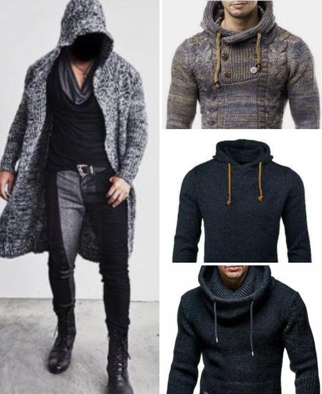 Sacos Y Sweaters Tejidos En Lana