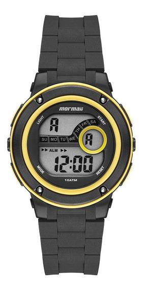 Relógio Mormaii Unissex Infantil Mo8740aa/8y Amarelo Digital