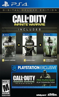 Call Of Duty: Infinite Warfare - Digital Deluxe Ps4