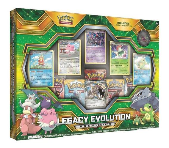 Coleccion Tarjetas Legacy Evolution Pin Collection Pokemon