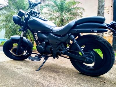 Moto Cafe Rancer Tuning Shineray Harley Davidson