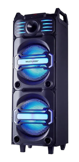 Caixa De Som Speaker Dj Bluetooth 350w Sp285 Multilaser