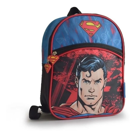 Mochila Liga De La Justicia Batman Flash Superman 11 Pul