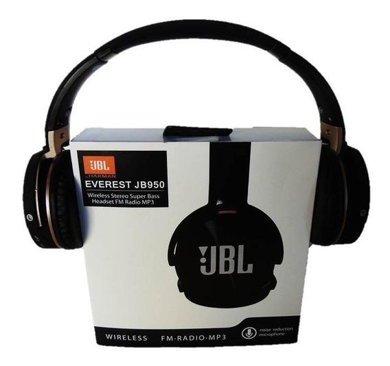 Fone De Ouvido Everest Jb950 Headset Bluetooth Micro Sd
