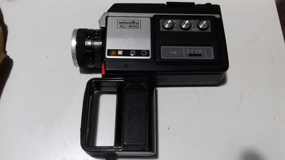 Filmadora Antiga Minolta X L - 400 Japonesa