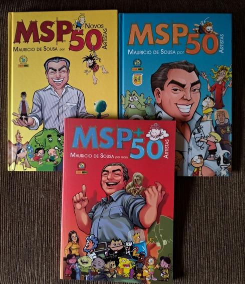 Msp 50 - 3 Edições: Amarela, Azul E Vermelha