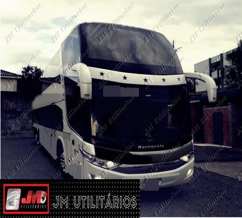 Imagem 1 de 5 de Paradiso 1800 Dd G7 Ano 2014 Scania K400 Jm Cod.143