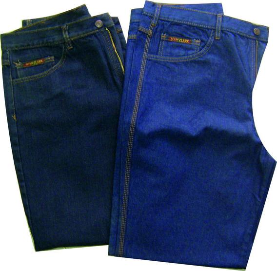 Pantalon Blue Jean Triple Costura Obrero Por Unidad