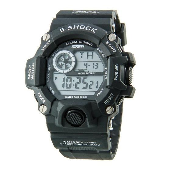 Relógio Original Skmei 1019 Digital Resina Resistente Barato