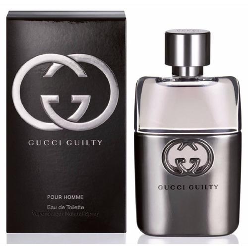 Perfume Original Guilty Pour Homme By Gucci Para Hombre 90ml