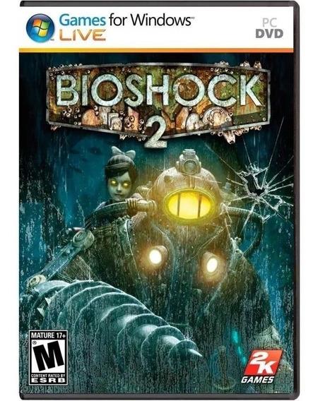 Jogo Pc Bioshock Ii Bioshock 2 Lacrado Dvd Original Novo Top