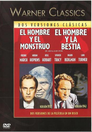 El Hombre Y El Monstruo + El Hombre Y La Bestia Dvd Nuevo