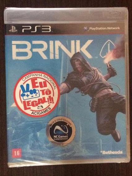Jogo Brink - Playstation 3 (mídia Física)