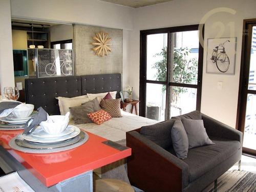 Studio Com 1 Dormitório À Venda, 29 M² Por R$ 401.533,00 - República - São Paulo/sp - St0368