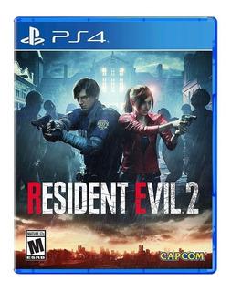 Resident Evil 2 Ps4 Original Sellado Físico Local A La Calle