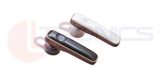 Fone Universal De Ouvido Headset Bluetooth Sem Fio P/ Celular Android Ios Com Suporte P/ Orelha